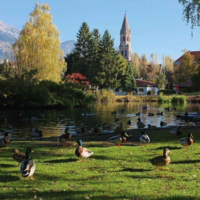 Popular with the locals: Rapoldi Park.