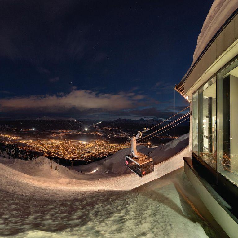 Die Nordkette bei Nacht