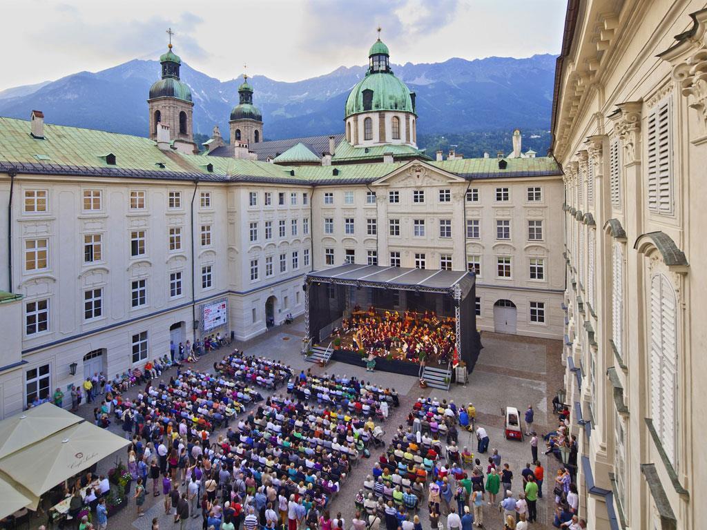 Promenadenkonzert in der Hofburg