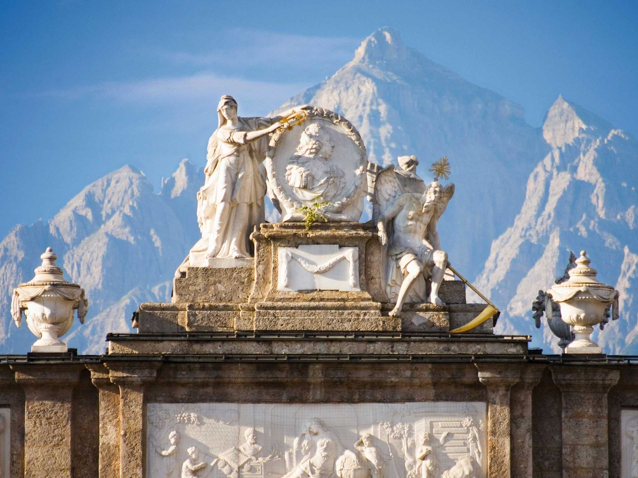 Triumphal Arch Innsbruckinfo