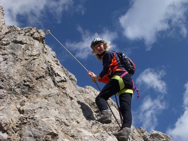 Klettersteig Wankspitze : Klettersteig wankspitze innsbruck