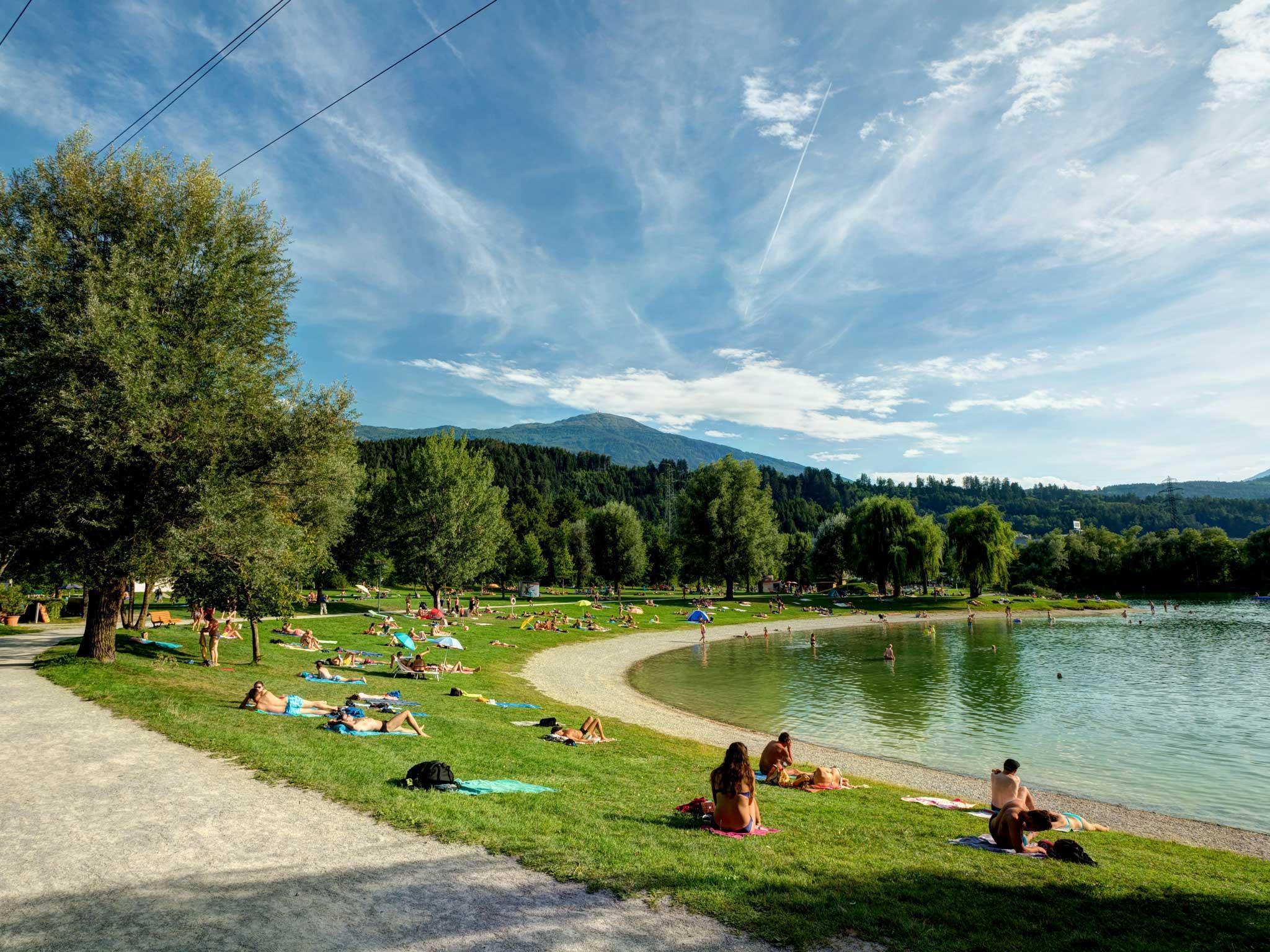 Baggersee Innsbruck