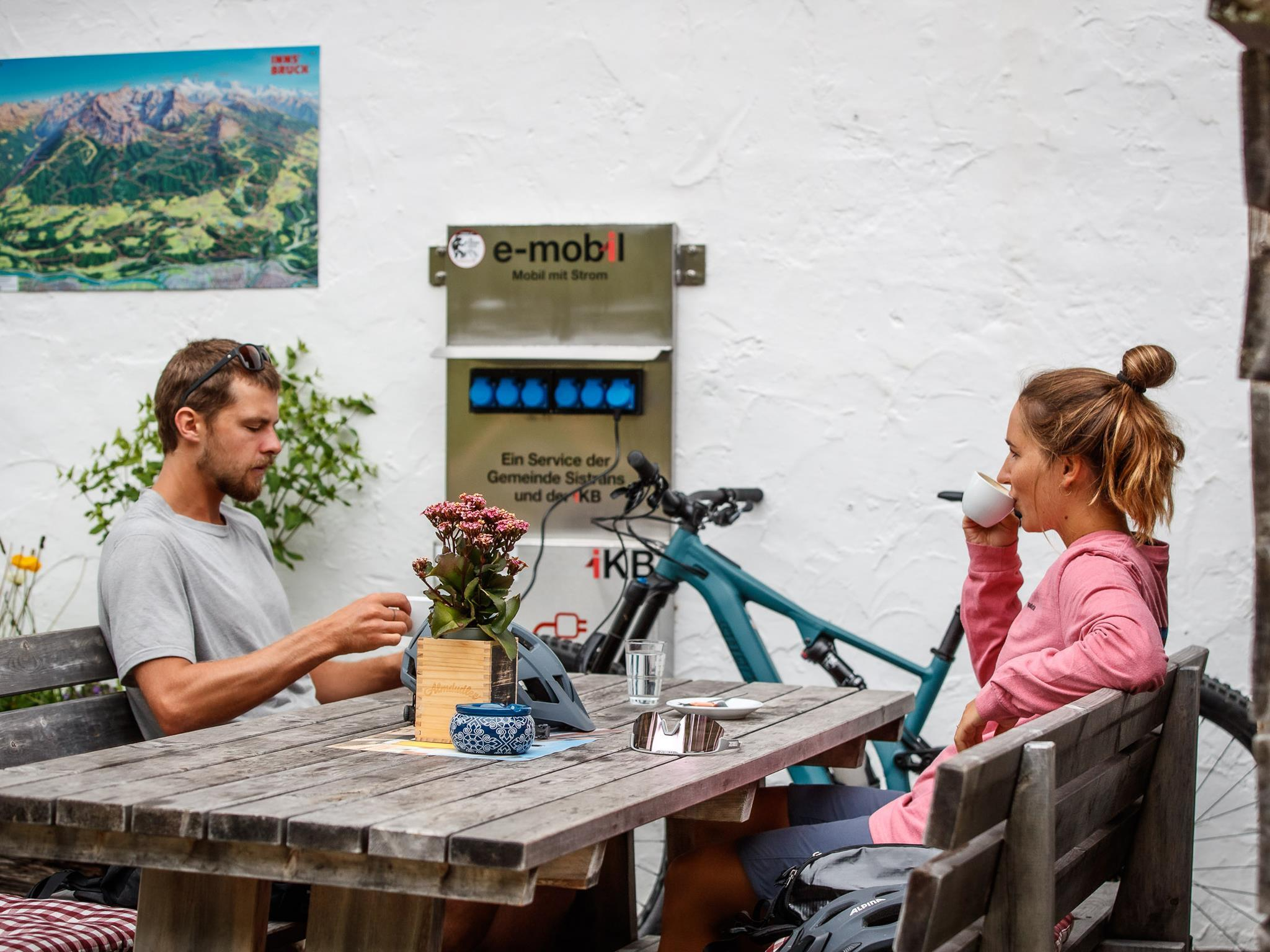 E-Bike Ladestation: Landhotel Jäger