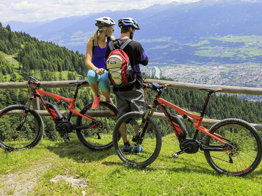 E-Bike Ladestation Hotel Seppl Mutters