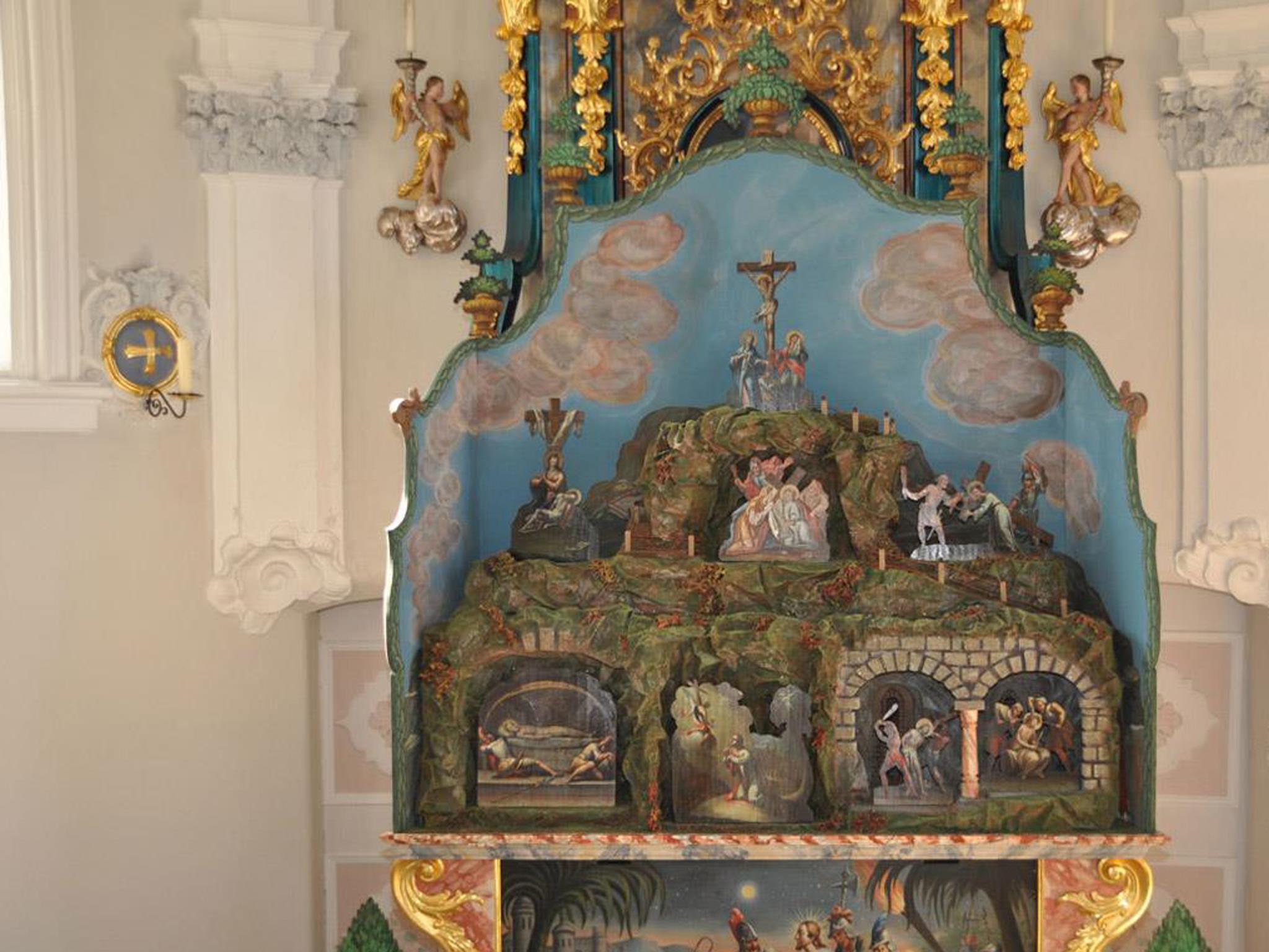Fastenkrippe Lindenkapelle Axams
