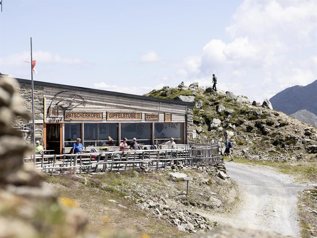 Gipfelstube Patscherkofel - Sommer