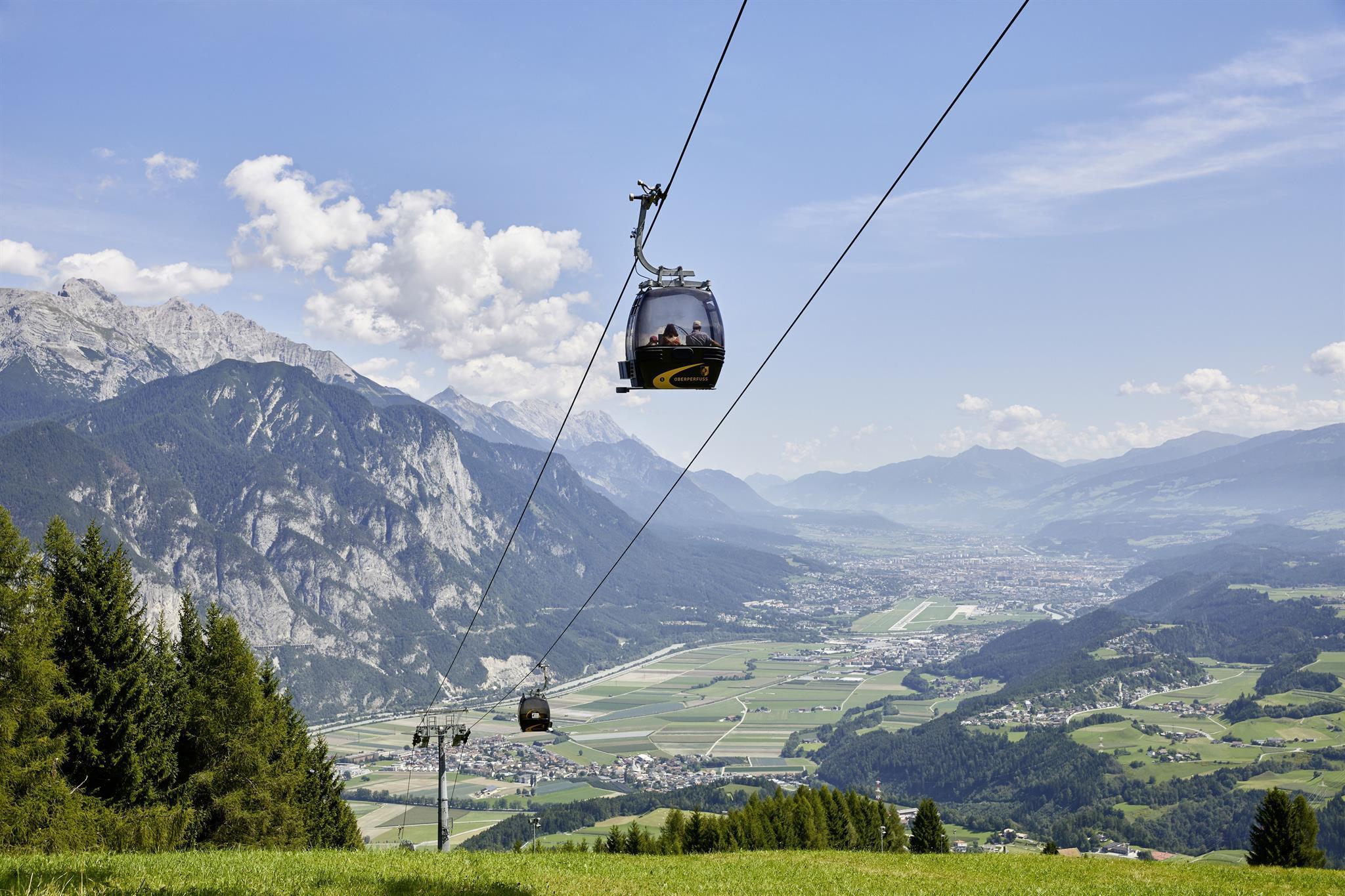 Aussichtspunkt Inntalblick Oberperfuss/Rosskogelhütte