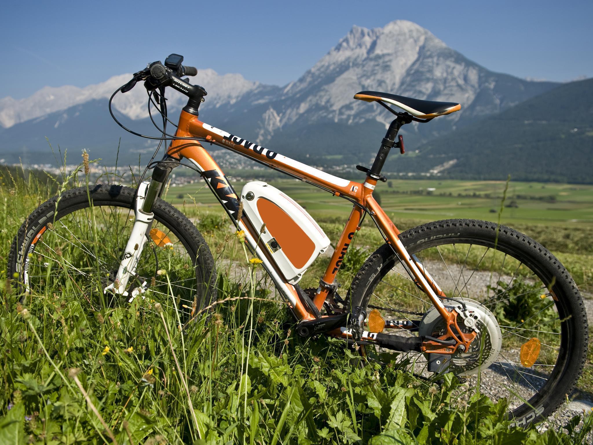 E-Bike Ladestation: Mair´s Beerengarten
