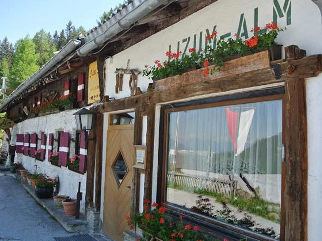 Bergrestaurant Lizum Alm im Sommer