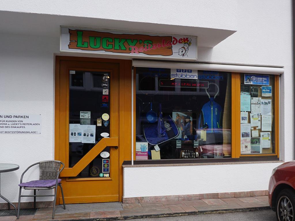 online retailer 1b6c0 bcab4 Lucky's Reiterladen (riding shop) : innsbruck.info
