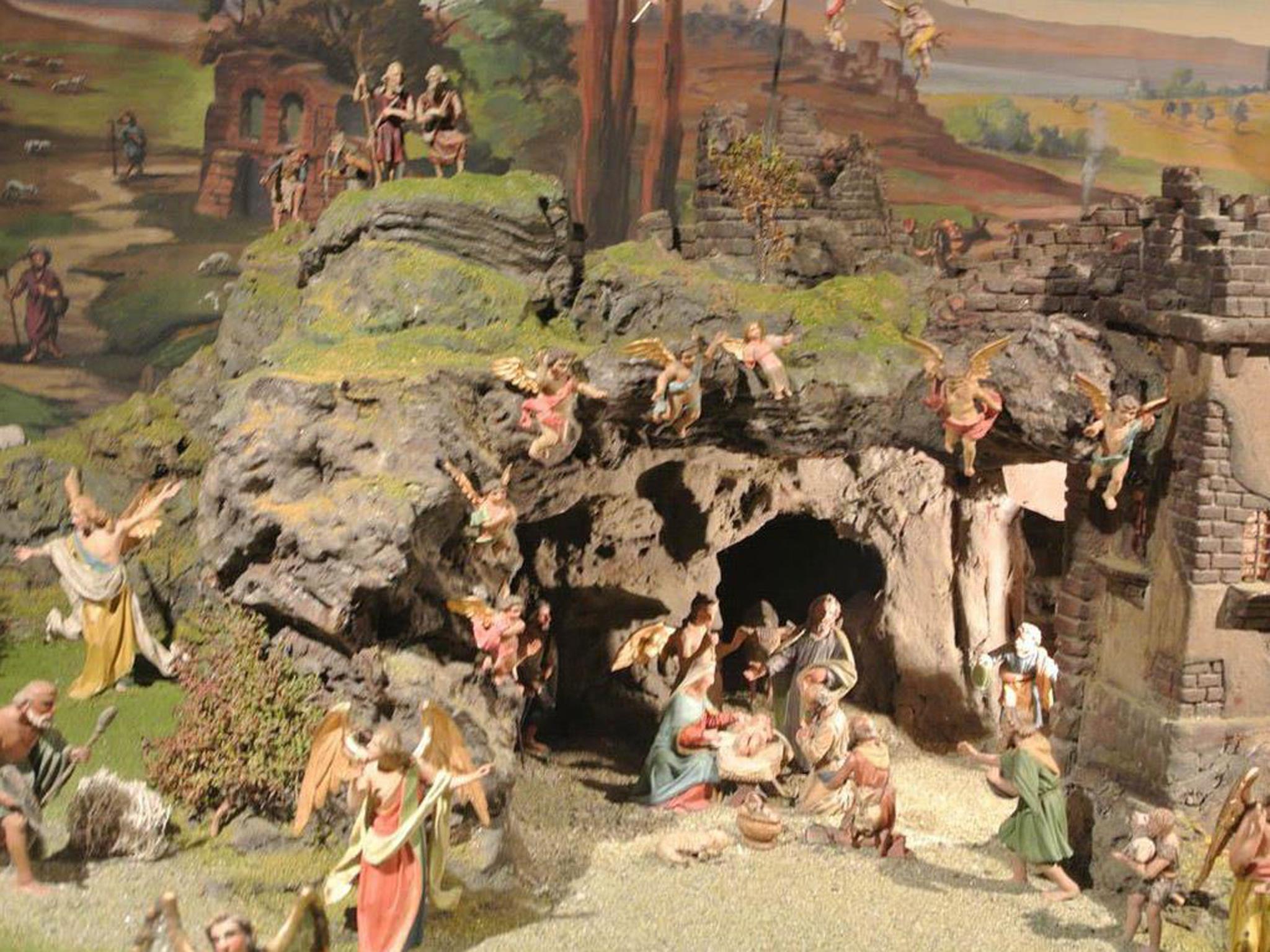 "Weihnachtskrippe ""Moar"" -  Gemeindeamt Axams"