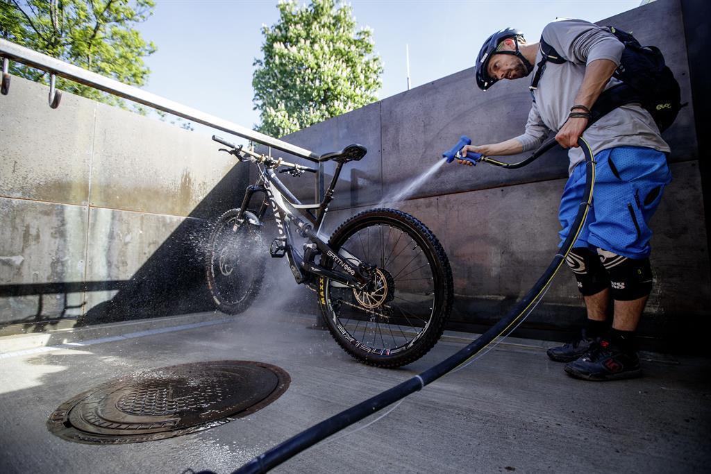 Bike Waschanlage Löwenhaus