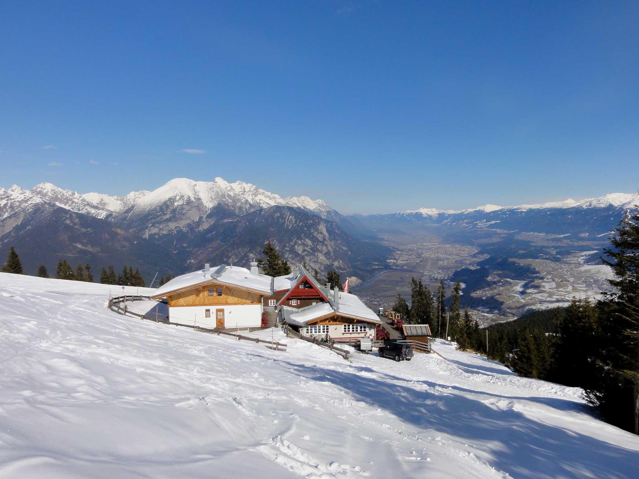 Aussichtspunkt Inntalblick Oberperfuss/Rosskogelhuette
