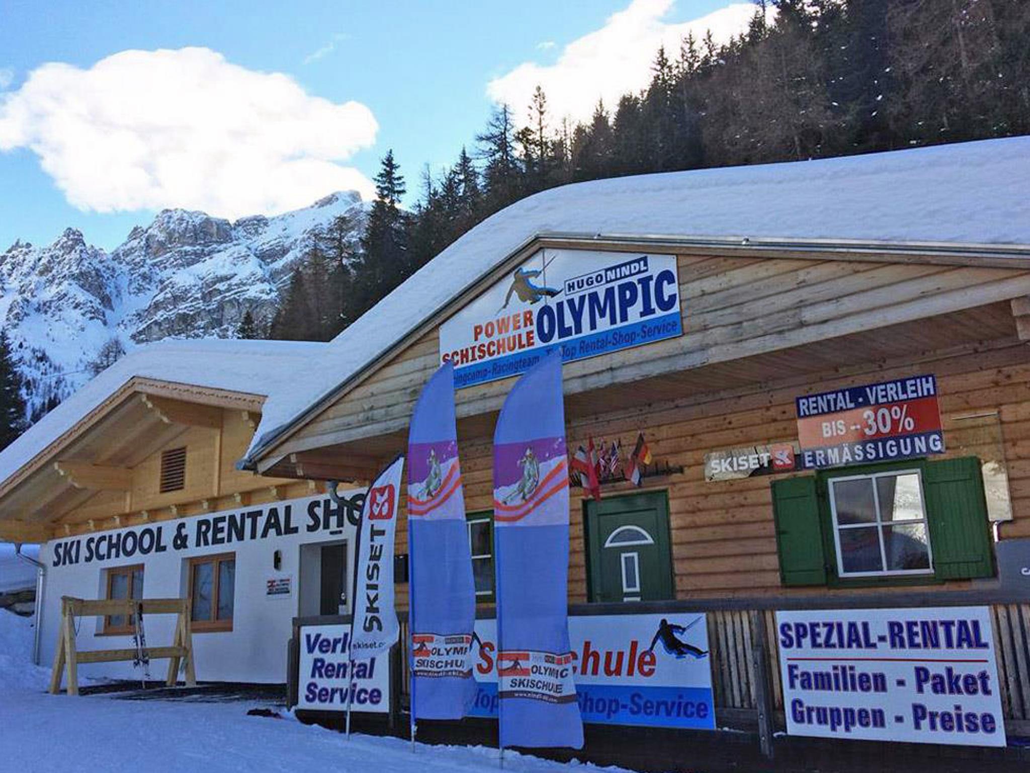 Axamer Lizum Tip Top Rentalshop  -  Ski und Snowboardverleih