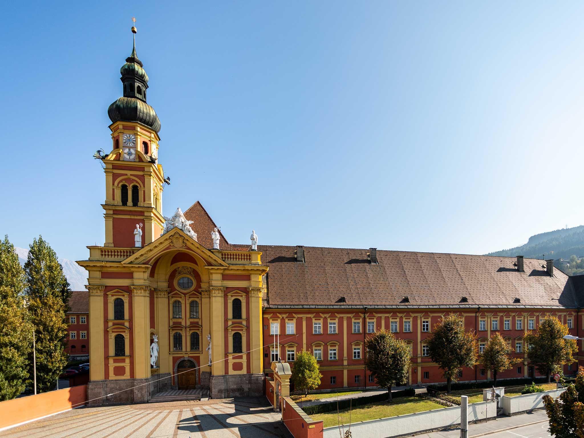 Stiftskirche Stiftsmuseum Wilten