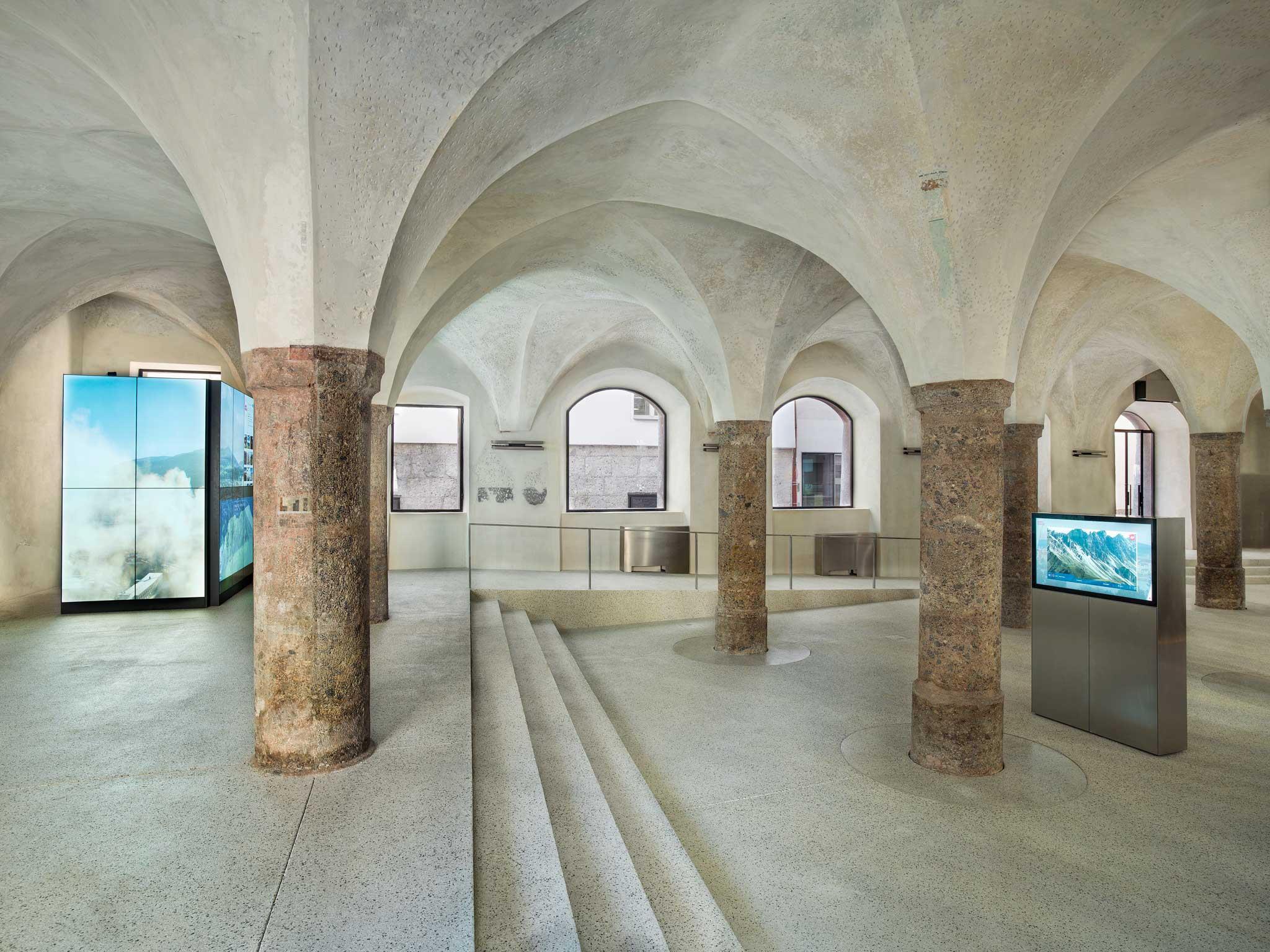 Tourismus Information Innsbruck - Architektur