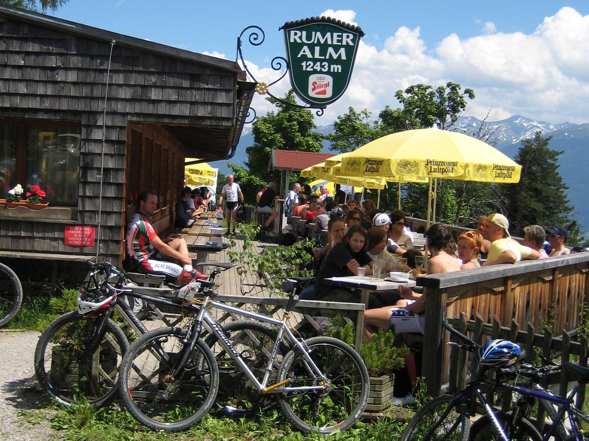 E-Bike Ladestation Rumer Alm